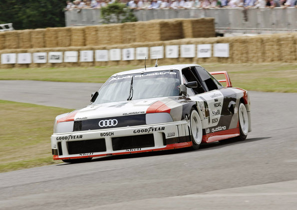1989: most powerful five-cylinder works engine in motorsport: At the 1989 IMSA GTO in the USA, the Audi 90 quattro competes in its races with the most powerful fivecylinder works engine. The turbocharged aluminum engine is a 2.2-liter high-performance unit specially designed for racing. It develops 530 kW (720 hp) at 7,500 revolutions per minute and delivers 720 newton meters (531.04 lb-ft) of torque at 6,000 rpm. Overall, the Audi 90 quattro IMSA GTO wins seven races in the American touring car series in the 1989 season.