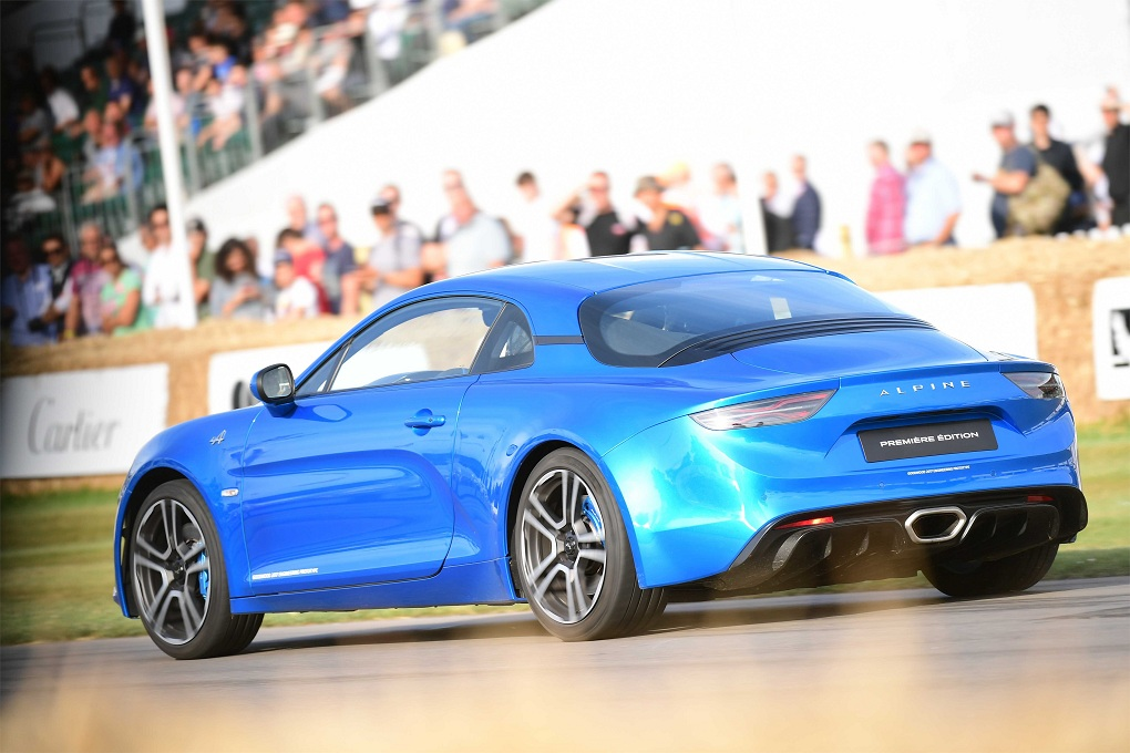 Alpine A110 – Goodwood Festival of Speed