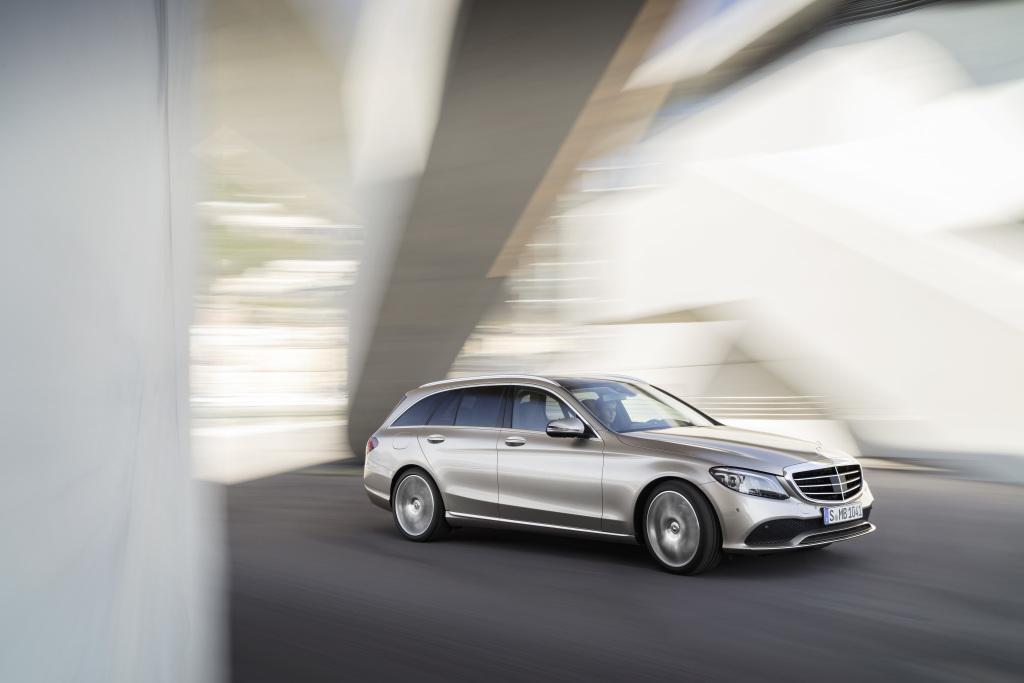 Mercedes-Benz C-Klasse T-Modell Exclusive, Exterieur: mojavesilber, Interieur: Leder magma/espresso Mercedes-Benz C-Class Estate Exclusive, exterior: mojave silver, interior: leather magma/espresso